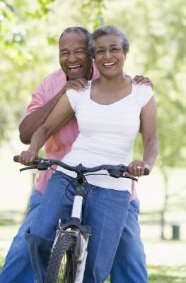 Cycling-Mature-Couple